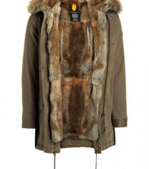 Куртка на подкладке из натурального меха 3 категории