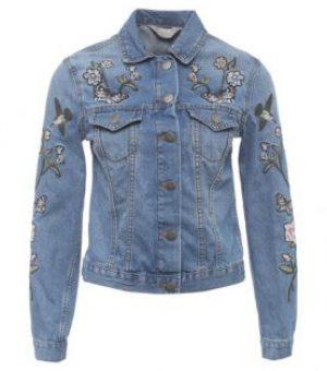 Джинсовая куртка (сложная)