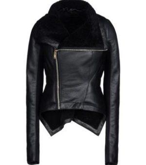 Куртка (замша, нубук, крег, наппа, кожа) с отделкой из меха 1 категории