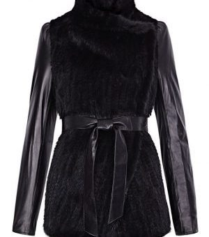 Куртка (замша, нубук, крег, наппа, кожа) с отделкой из меха 2 категории