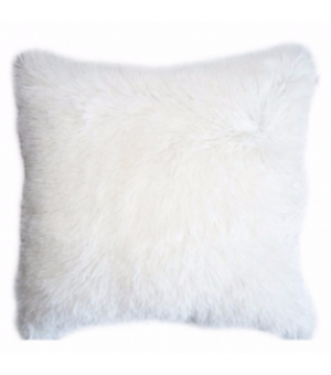 Меховая подушка до 50 см